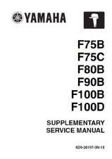 Yamaha 6D9-28197-3N-1X Service Manual (Supplement To 6D9-28197-3G-11)